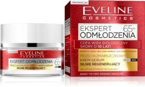 web Przeciwzmarszczkowy krem serum 65 Ekspert Odmlodzenia 300x180 Ekspert Odmłodzenia   nowość od Eveline Cosmetics