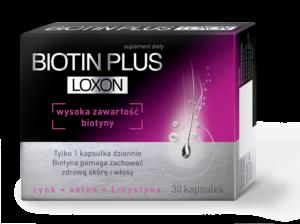 Biotin foto 300x224 Suplement diety Biotin Plus Loxon®   gdy włosy opadają z sił