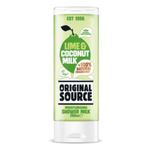Limonka i mleczko kokosowe  OS 300x292 Wegańskie żele pod prysznic Original Source zmieniają się na lepsze! Odkryj nowe poręczne opakowania
