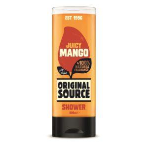 Soczyste mango OS 300x293 Wegańskie żele pod prysznic Original Source zmieniają się na lepsze! Odkryj nowe poręczne opakowania